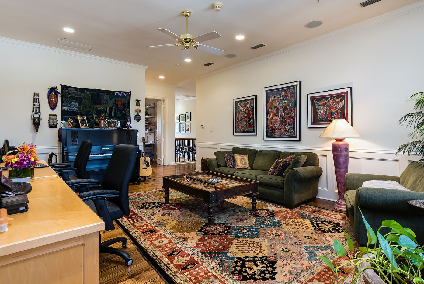 A look at the property at 10714 Lennox Lane in Dallas.