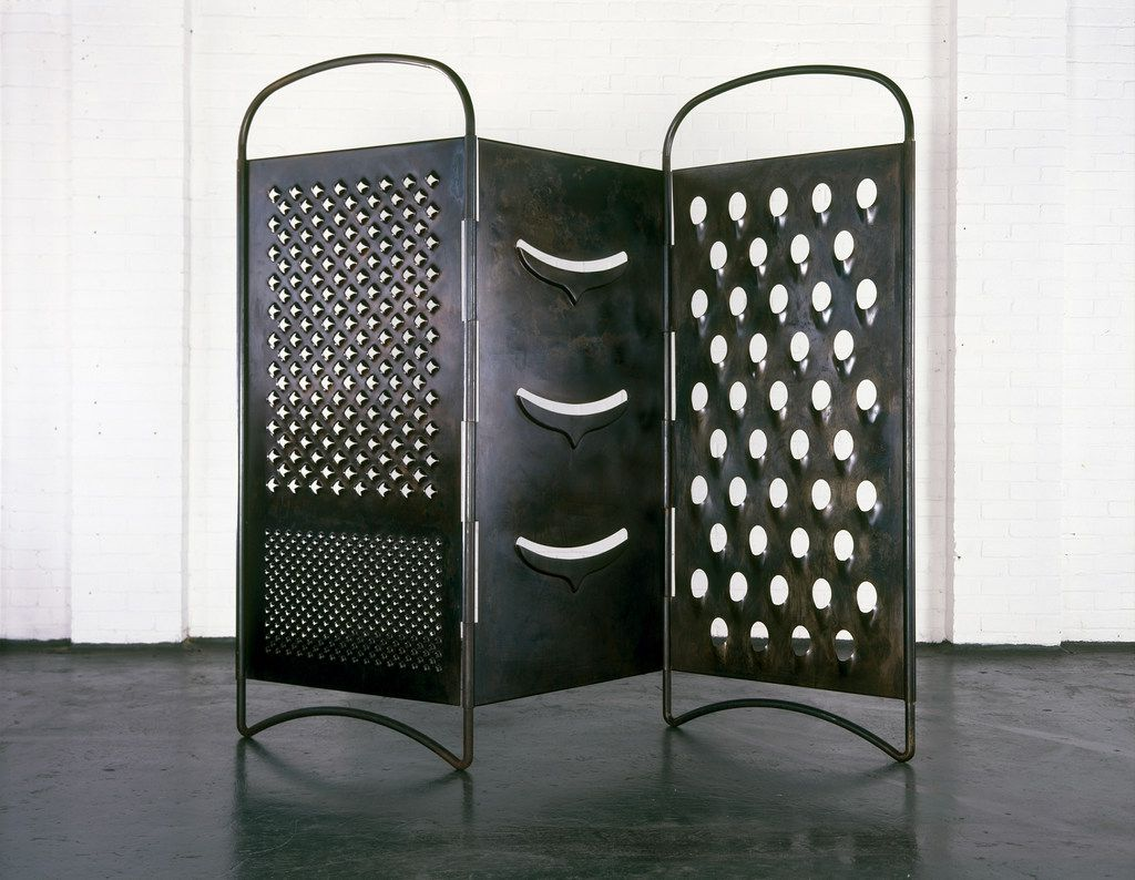 Mona Hatoum, Grater Divide, 2002. Mild steel, Museum of Fine Arts, Boston. © Mona Hatoum. Image courtesy of White Cube.