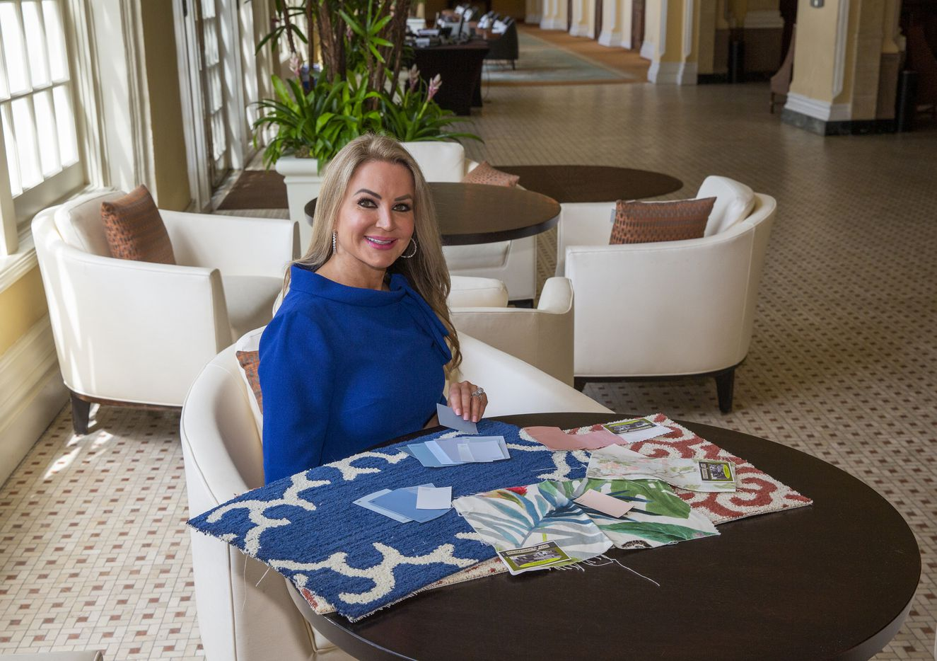 Wyant's wife, Lorenda, is overseeing the hotel's new interior design