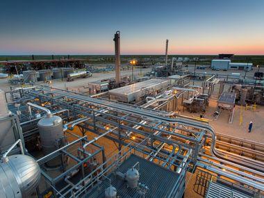 EnLink Midstream's Deadwood plant in the Permian Basin of West Texas.