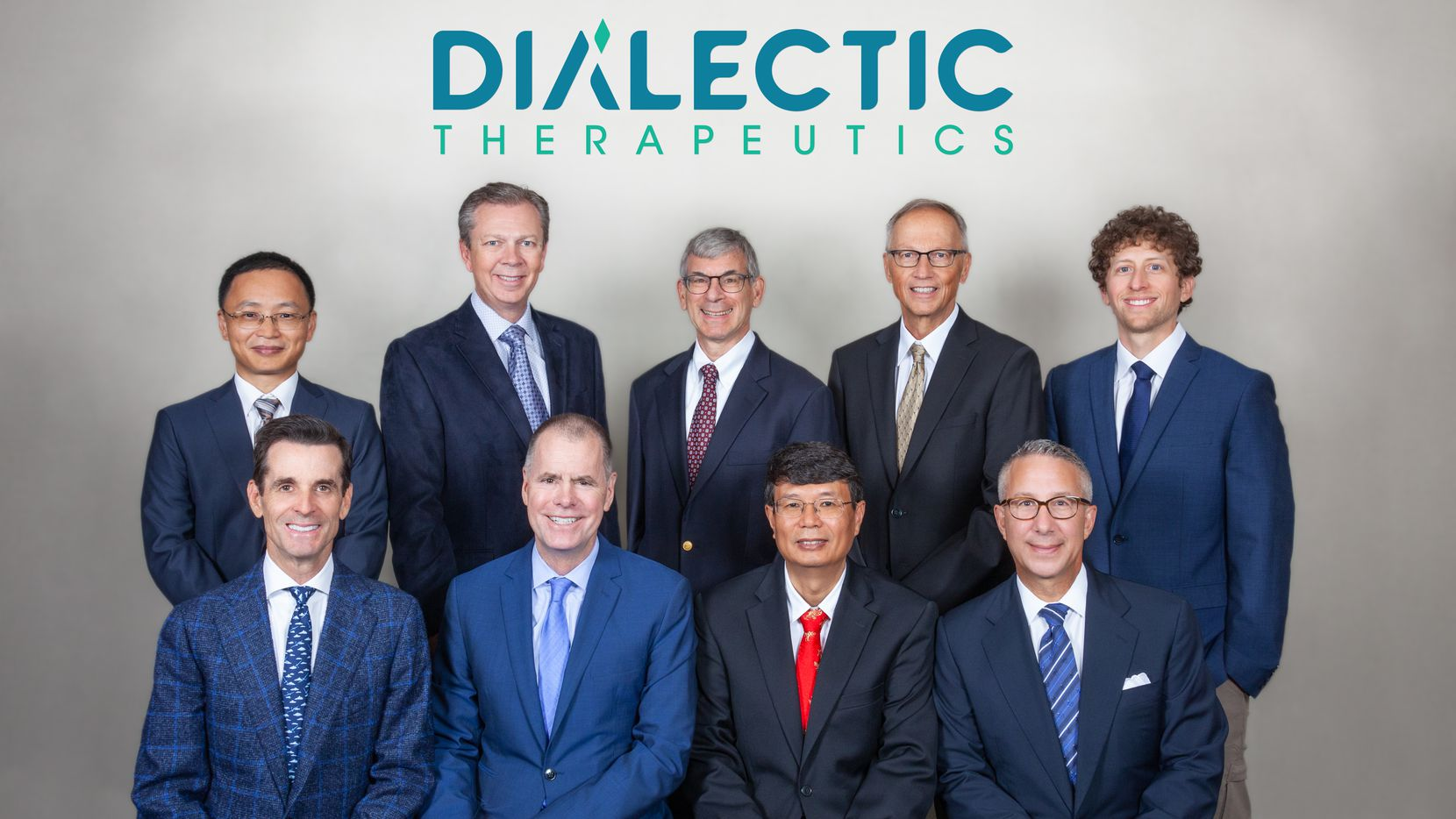 The founders and leadership team of Dallas-based Dialectic Therapeutics.