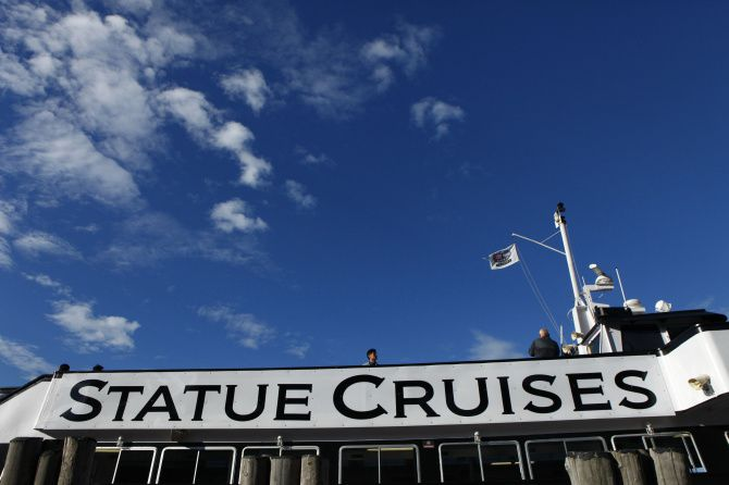 Statue Cruises is the sole operator for boats that take visitors to Liberty Island, where the Statue of Liberty is located.