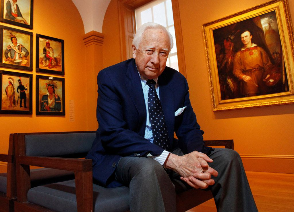Historian and author David McCullough has won two Pulitzer Prizes, for Truman and John Adams.