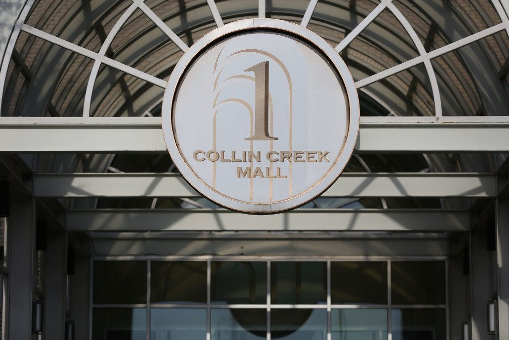 A view of Collin Creek Mall in Plano, which is being marketed for redevelopment.