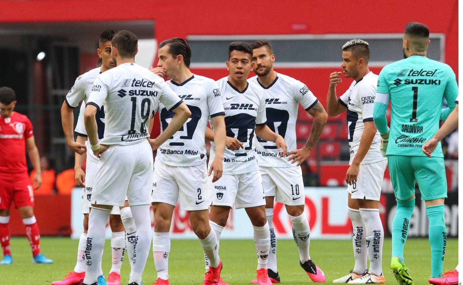 Uno de los integrantes del primer equipo de Pumas dio positivo a Covid-19, en estos momentos se encuentra asintomático y en aislamiento.