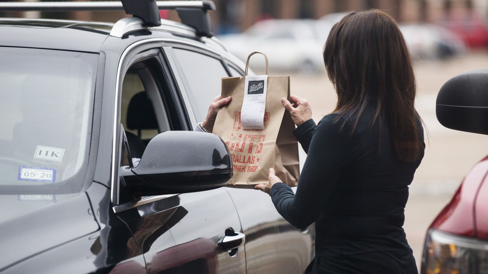 Delivery, curbside pickup or drive-through options are available at various restaurants in the Dallas-Fort Worth area.