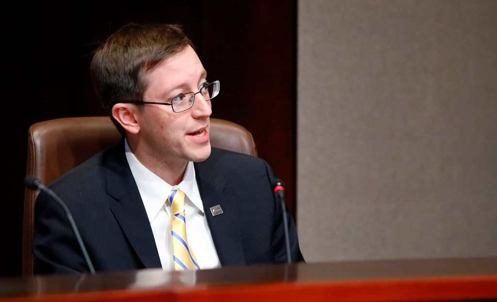 "Plano council member Anthony Ricciardelli spoke about his fellow city council member, Tom Harrison, saying, ""If I were in Tom's position, I would resign."""