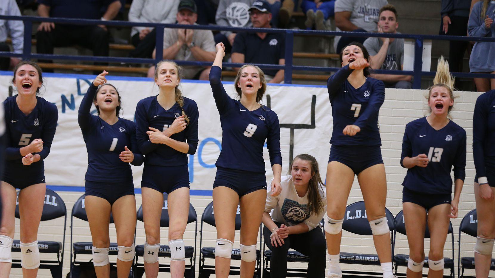 Reigning 6a State Volleyball Champ Flower Mound Sweeps Keller In Bi District Playoffs