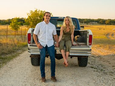 Greg Kelley married his high school sweetheart, Gaebri, earlier this year after being exonerated on child sex charges. He's now the face of Dallas-based Hari Mari's new boots collection.