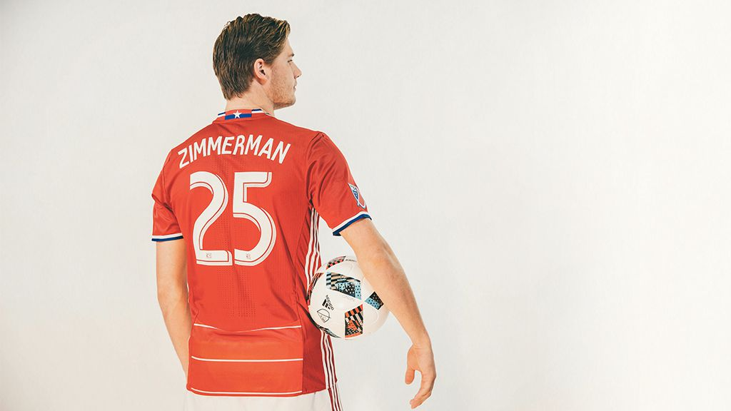 Walker Zimmerman, one of FC Dallas' stand out centerbacks.