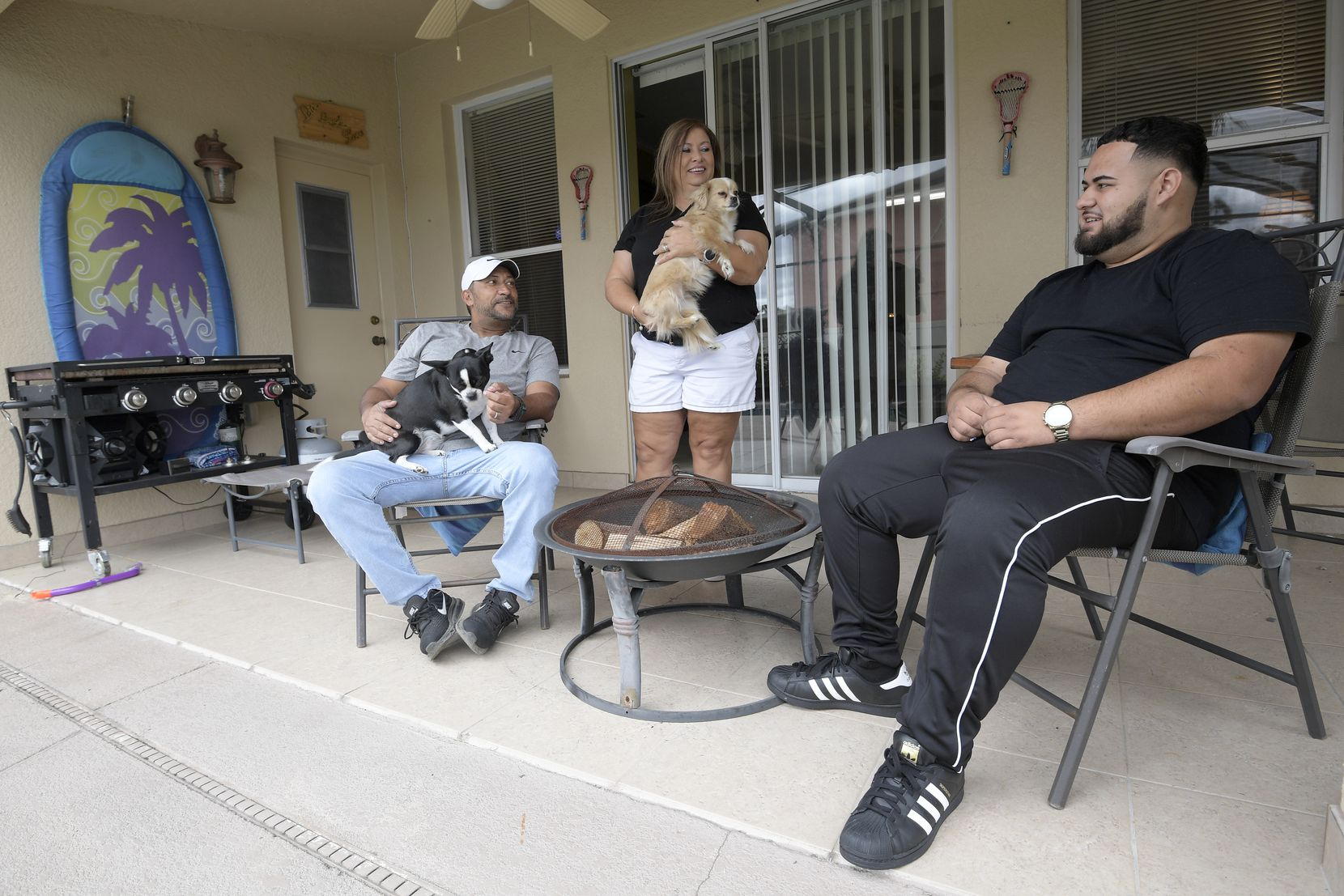 Pam Lopez said her son Brandon was born and raised in Greenville but now must make a new home in central Florida with her and his stepfather, Ruben Lopez.
