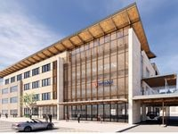 More than 50% of the Cawley Partners building is already leased.
