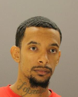 Malcolm Loren Hickson, 25, had a long rap sheet and was wanted on a family violence charge.