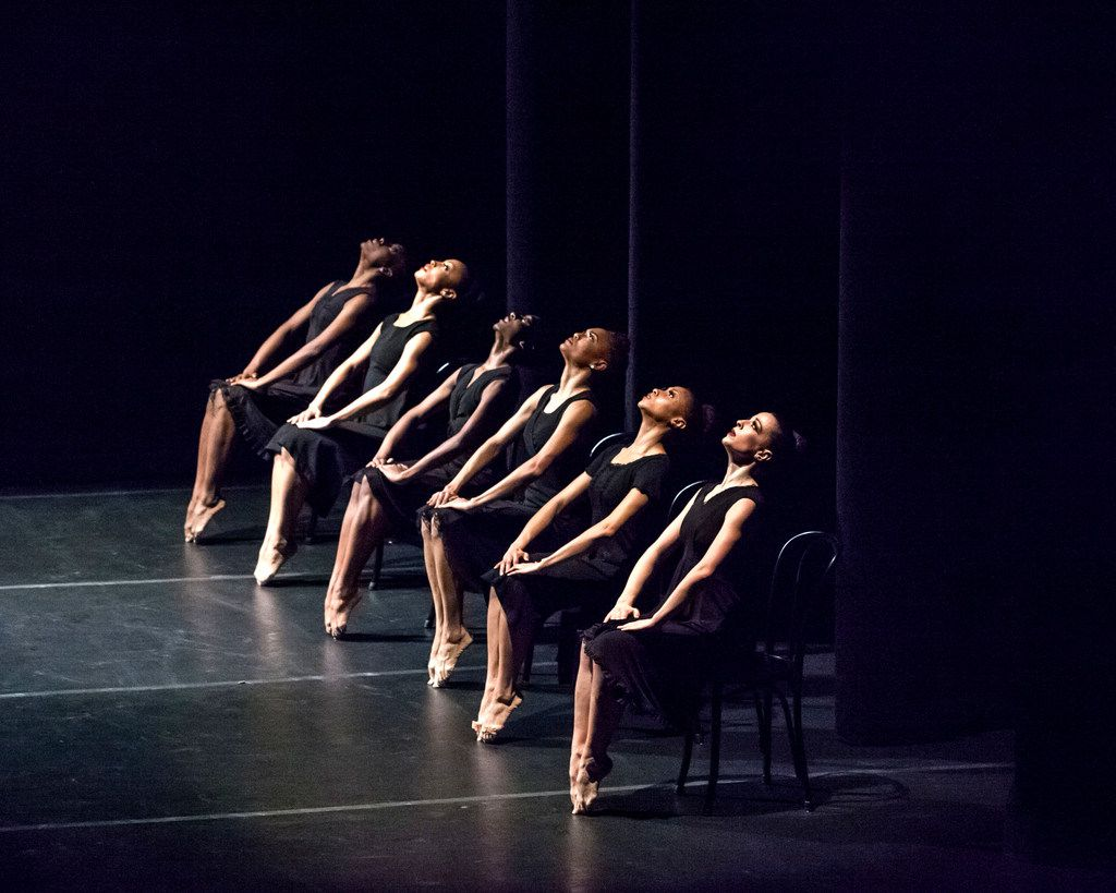 Ulysses Dove's 1986 work, Vespers, is one of the premier pieces in the Dallas Black Dance Theatre repertory.