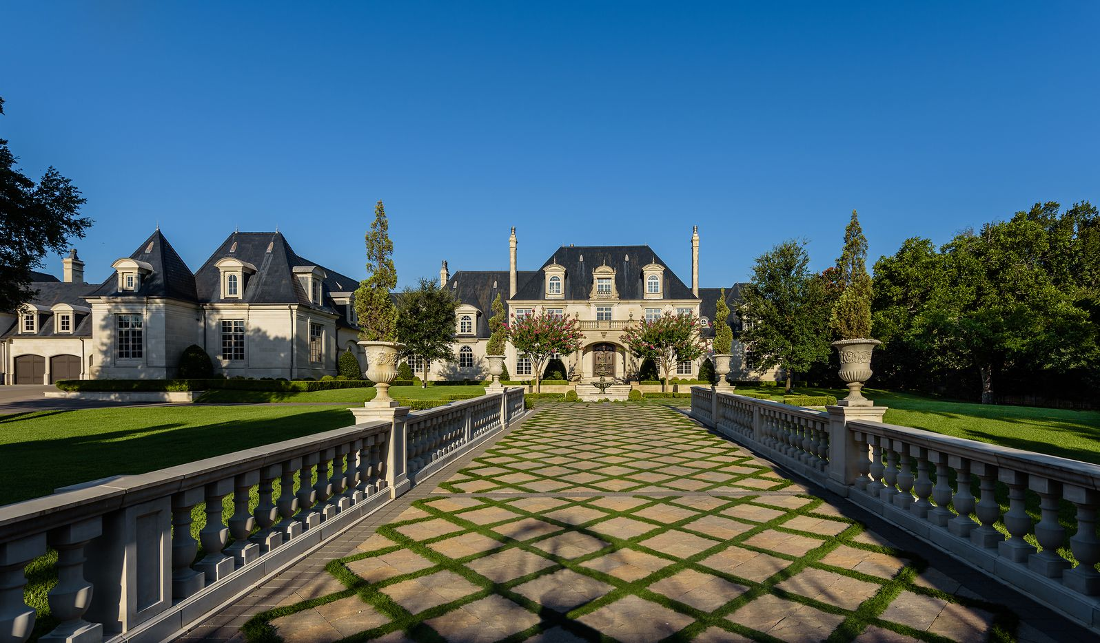 The more than four-acre estate on Strait Lane is one of Dallas' largest.