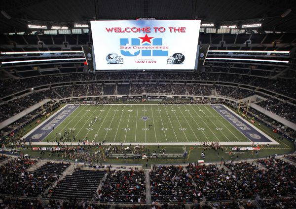 The UIL football state championship games being played in December at the Cowboys' AT&T Stadium has become a tradition. Will football have to move to the spring because of the coronavirus pandemic?