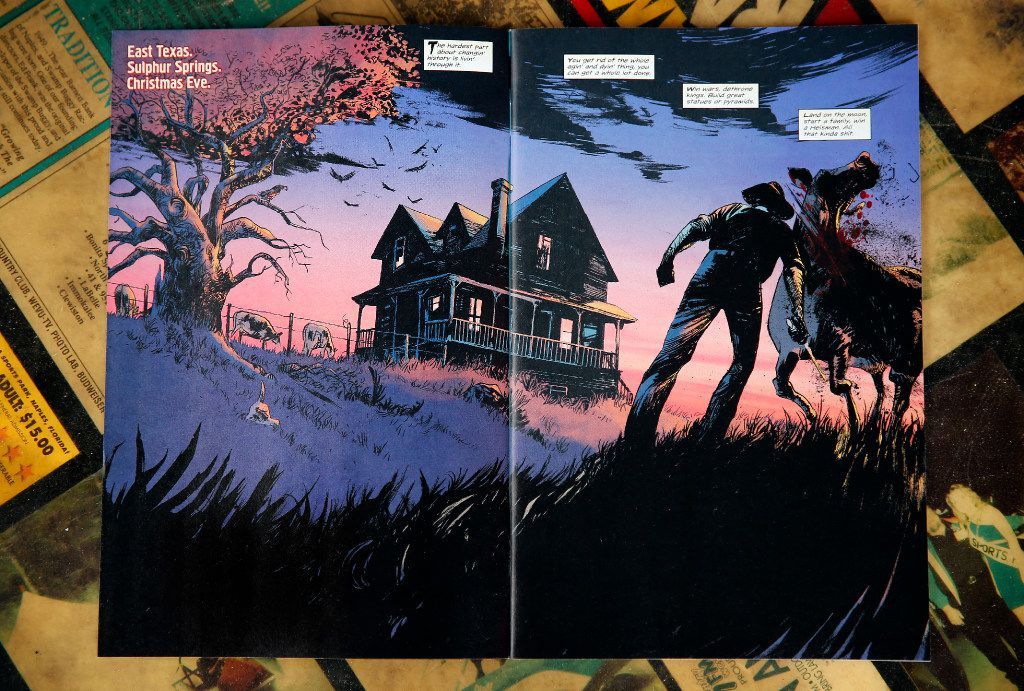 Redneck is a comic book written by Donny Cates, an Austin-based comic book writer who grew up in Garland.