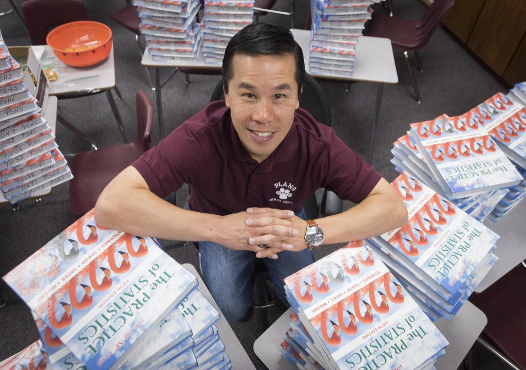 Bryan Yee, is a statistics teacher at Plano High School.  Photographed on Friday, Aug. 19, 2016.   (Rex C. Curry/Special Contributor)