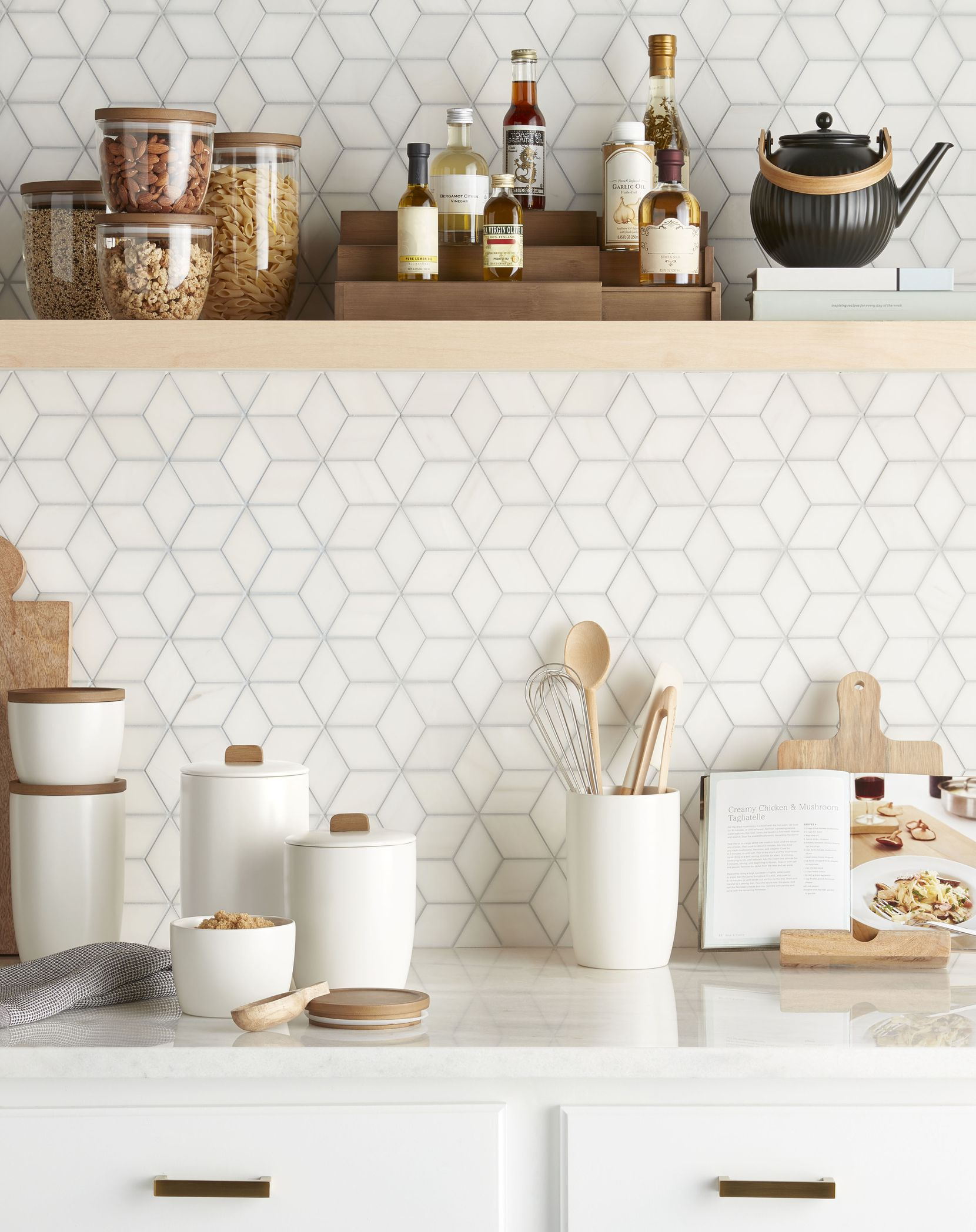 Kitchen and closets are big categories for The Container Store x KonMari collection.