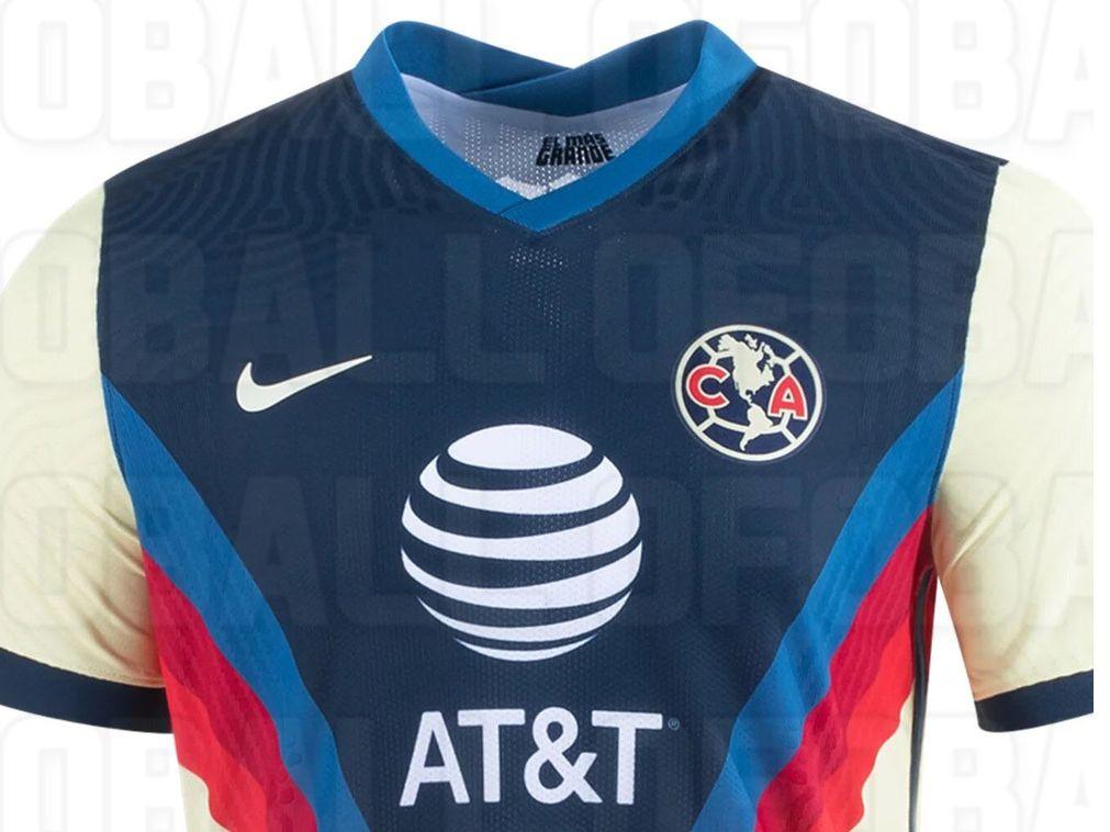 El uniforme que las Águilas del América utilizarán en el Torneo Apertura 2020 cuando jueguen en el Estadio  Azteca.
