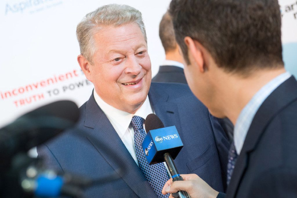 Former Vice President Al Gore at the Washington screening of his new documentary.