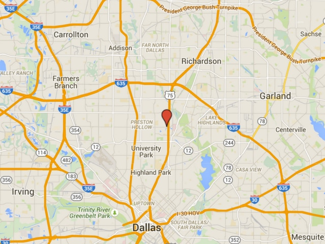 All of the places below are located at Walnut Hill Lane and Central Expressway in Dallas.