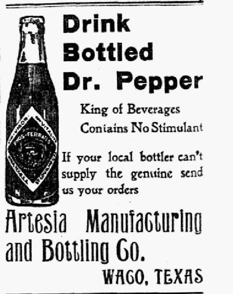 Advertisement published on Aug. 5, 1906.