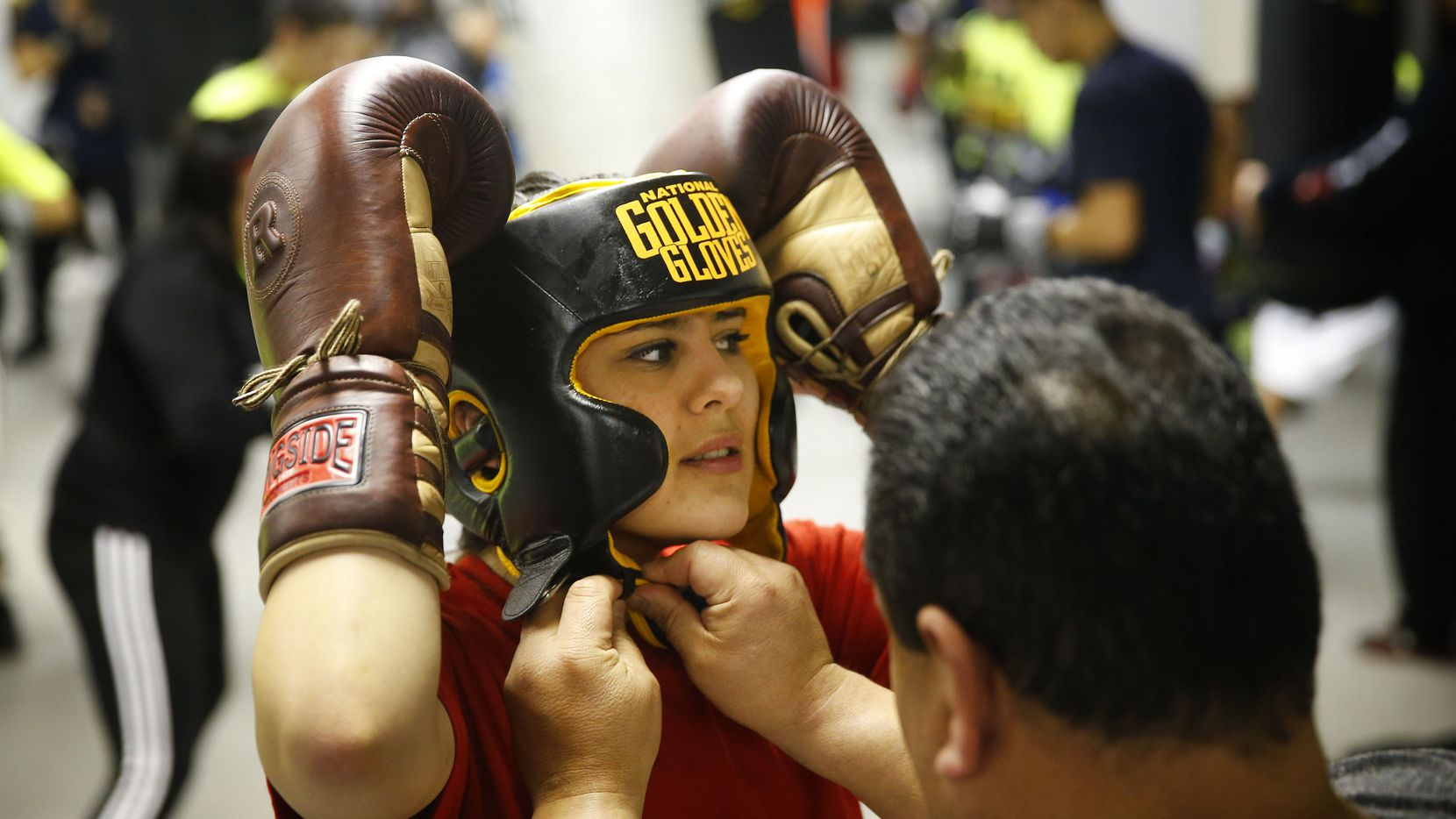 Alexis Texas Boxing once bullied, annalicia sustaita of garland now packs a