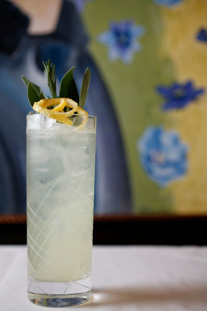 This sparkling sage-rosemary mocktail can be found at RM 12:20.