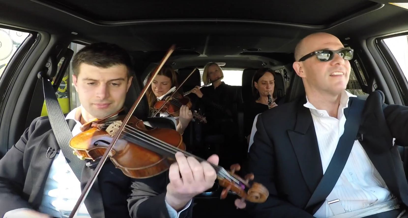 Five members of the Dallas Symphony Orchestra do their version of Carpool Karaoke.