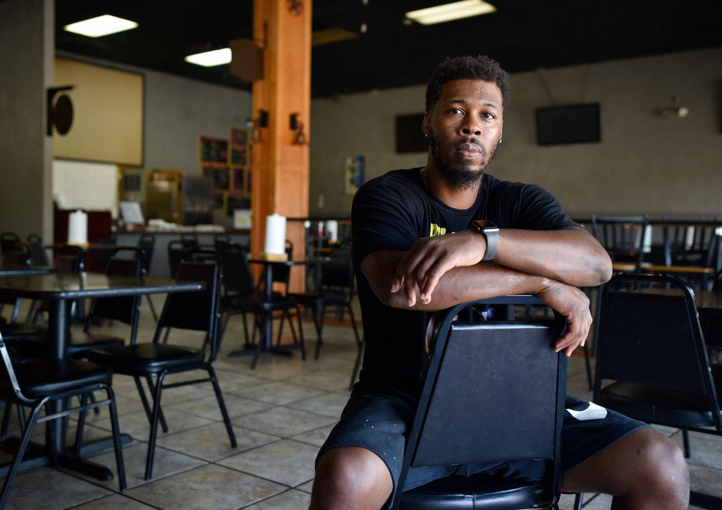 De'Andre Jackson, owner of Winners BBQ in Plano.