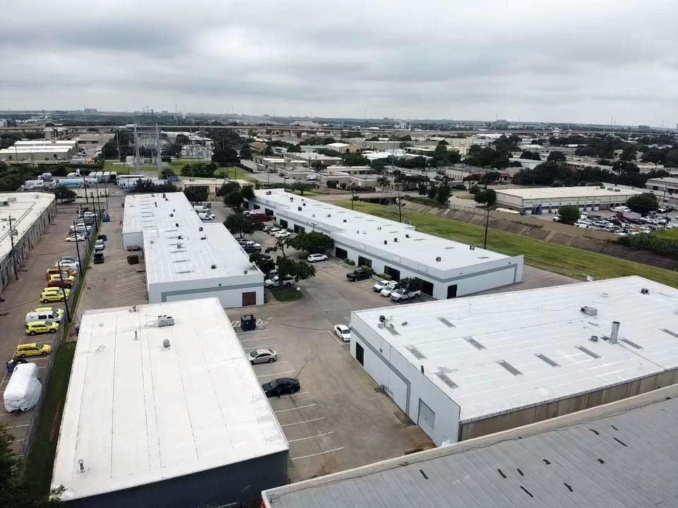 Shady Trail Business Center is a four-building industrial project on at 11048-11056 Shady Trail in Dallas.