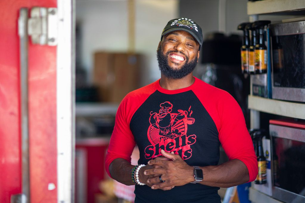 Chef Jermaine Paddio owns Shells and Tails 2 Geaux in DeSoto.
