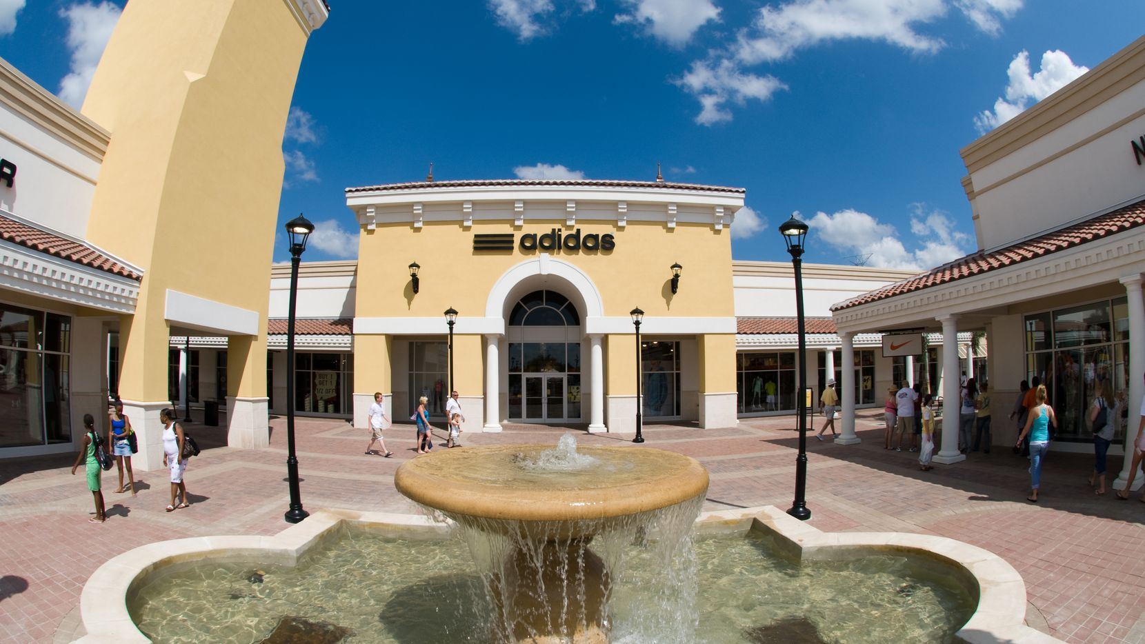Grand Prairie Premium Outlets' newest tenant should spice things up. This 2012 file photo shows the scene at the outlet mall back when it opened, and was then known as Paragon Outlets.