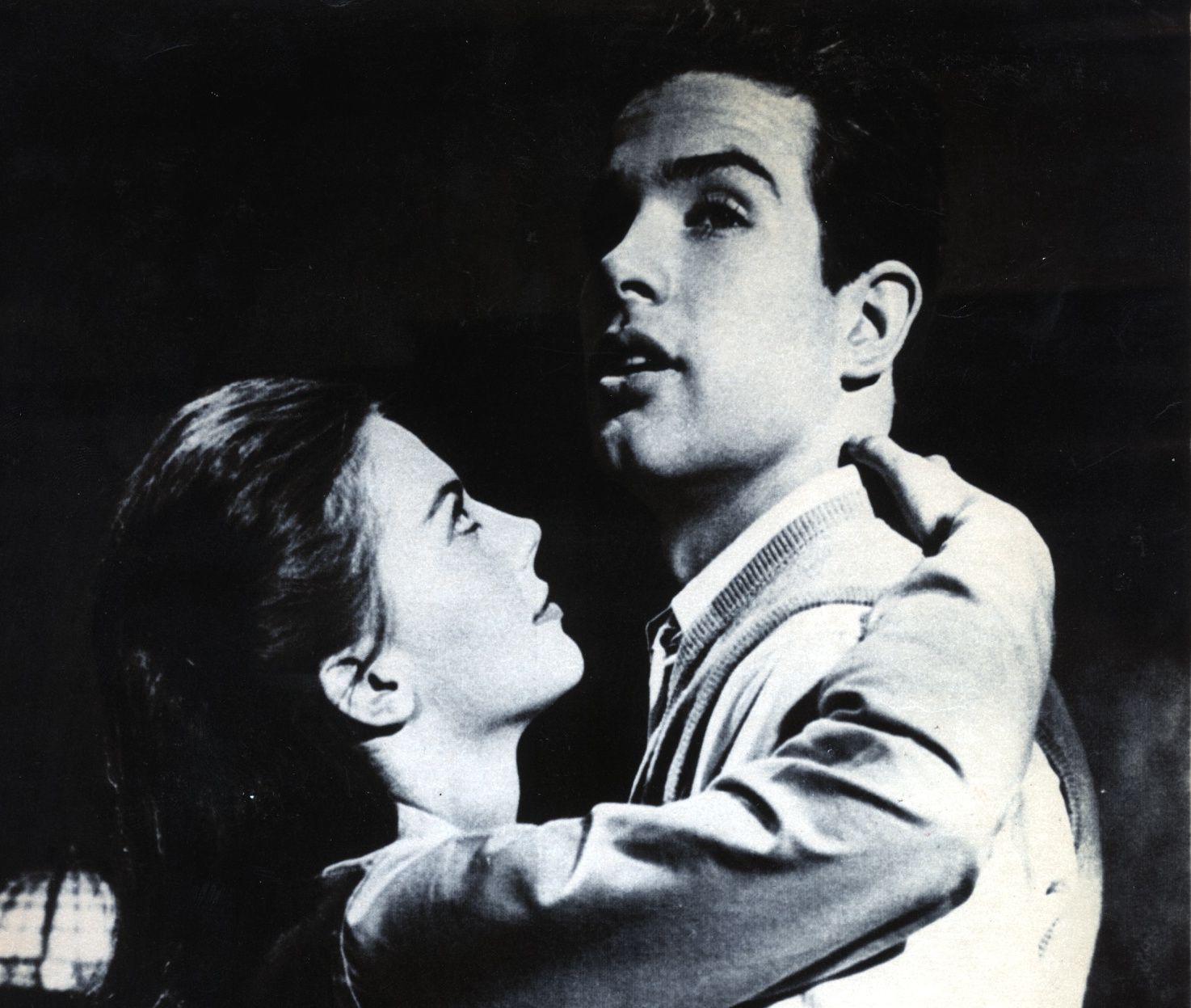 Natalie Wood y Warren Beatty en 'Splendor in the Grass'