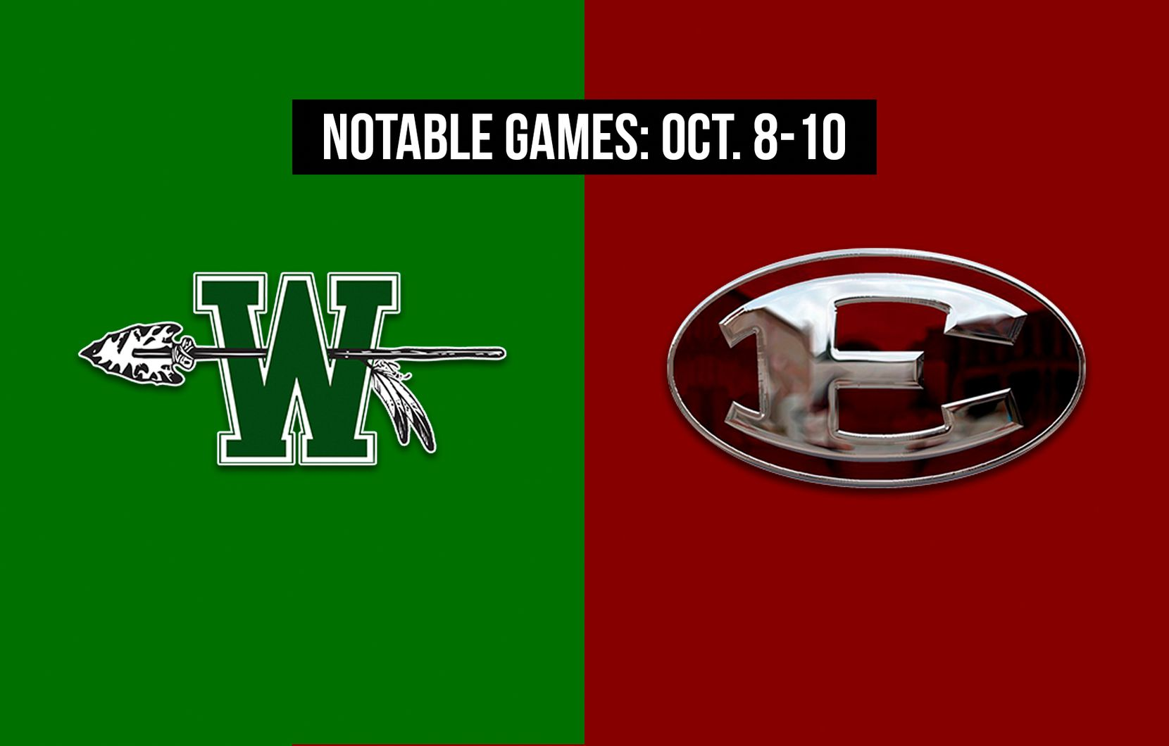 Notable games for the week of Oct. 8-10 of the 2020 season: Waxahachie vs. Ennis.
