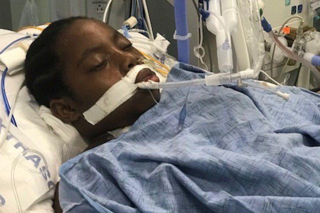 Dorika Uwimana fue hospitalizada en el Children's Medical Center luego del ataque. Requirió un trasplante de corazón.