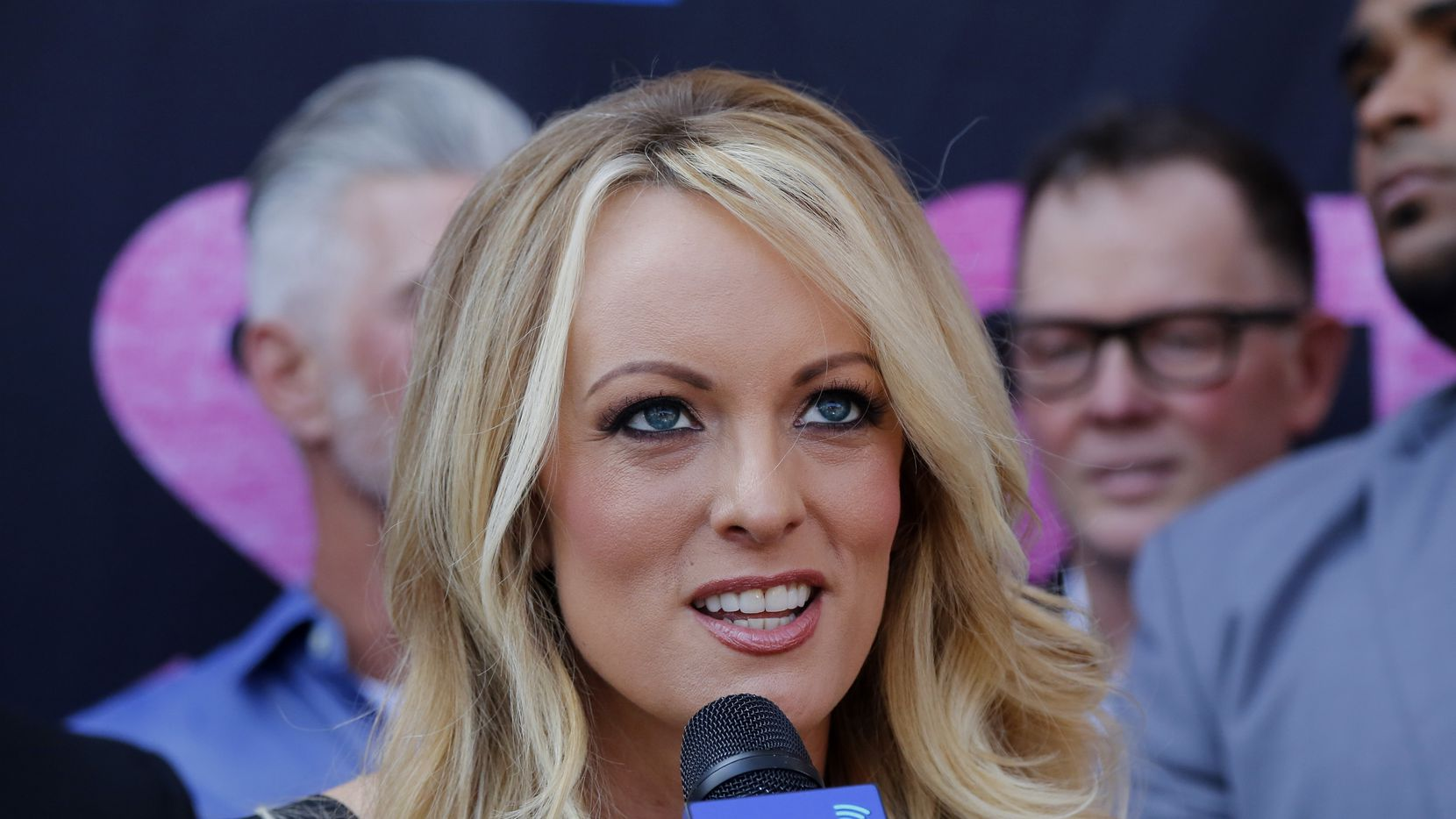 Porn actress Stormy Daniels received a Key to the City in West Hollywood, Calif., in May. Daniels has said she had a sexual relationship with Donald Trump before he became president.