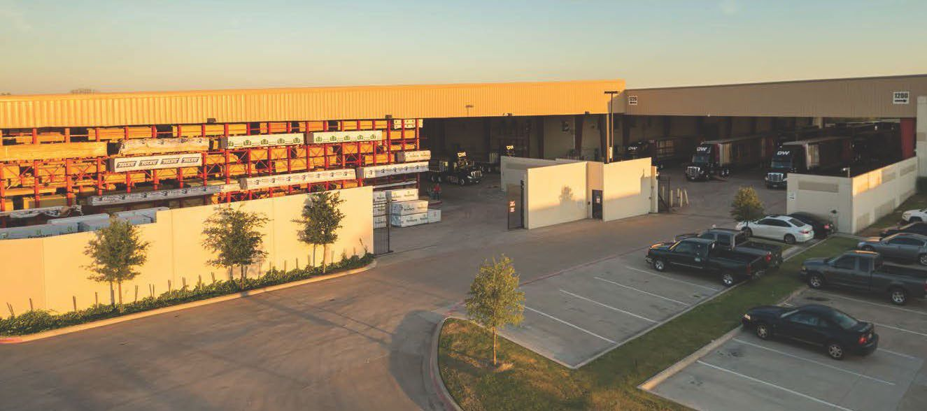 The almost half million square-foot industrial complex houses operations for DW Distribution.