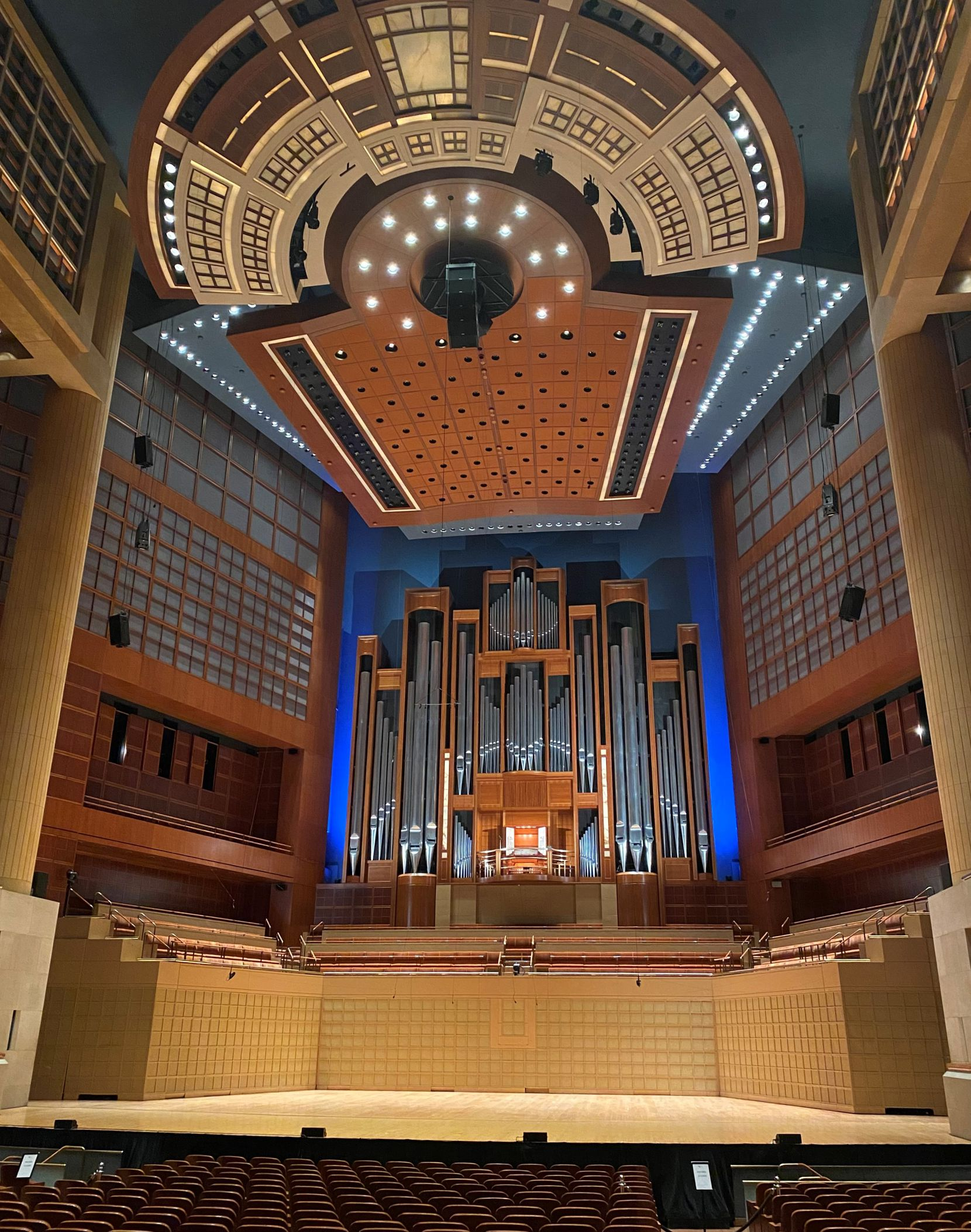 The Lay Family Organ, by C.B. Fisk organ builders, in the Meyerson Symphony Center, Dallas