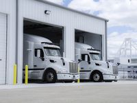 TuSimple's new autonomous trucking facility at Alliance Airport was recently completed and will support 50 additional jobs.