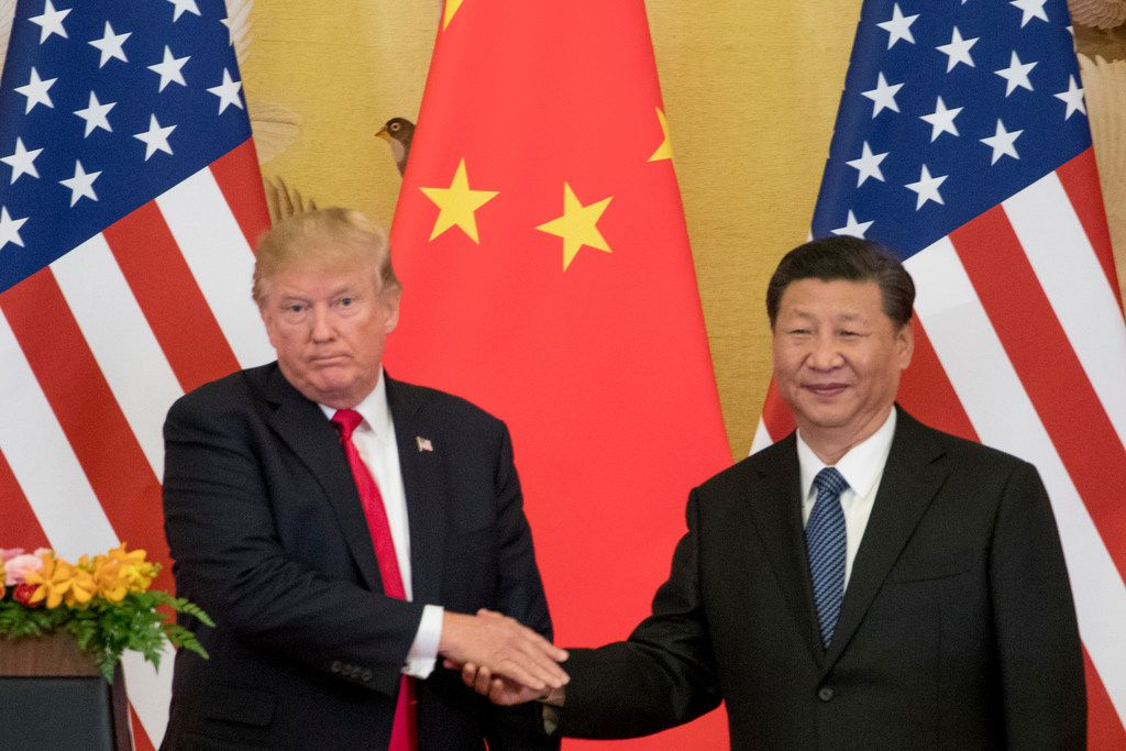 U.S. President Donald Trump and Chinese President Xi Jinping met in China in November.