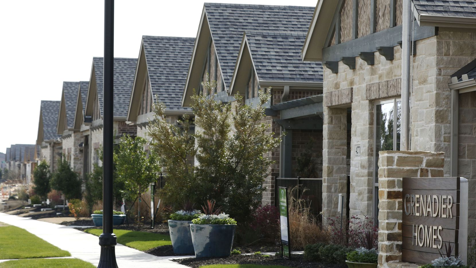 Grenadier Homes' Villas houses in the Windsong Ranch development in Prosper have been a hit with older buyers.