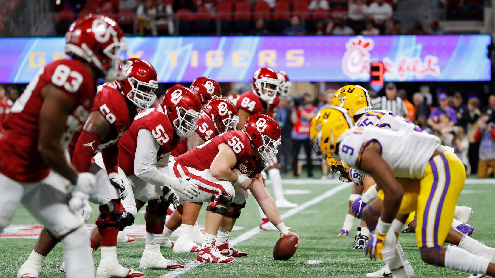 5 Thoughts From Oklahoma S College Football Playoff Loss To Lsu How The Sooners Were Exposed In The Peach Bowl