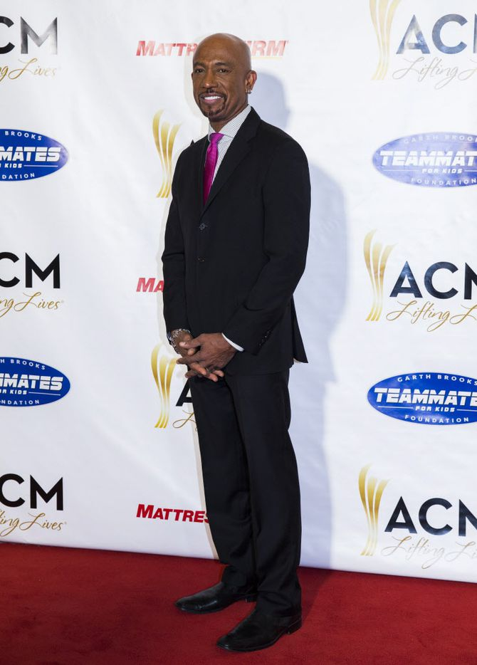 Television personality Montel Williams posed for photos on the red carpet.