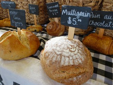 In this DMN file photo, Village Baking Co. sells fresh-baked breads, croissants and other goodies at the Coppell Farmers Market. The company now has two shops in Dallas: on Lowest Greenville and in the revitalized Knox district.