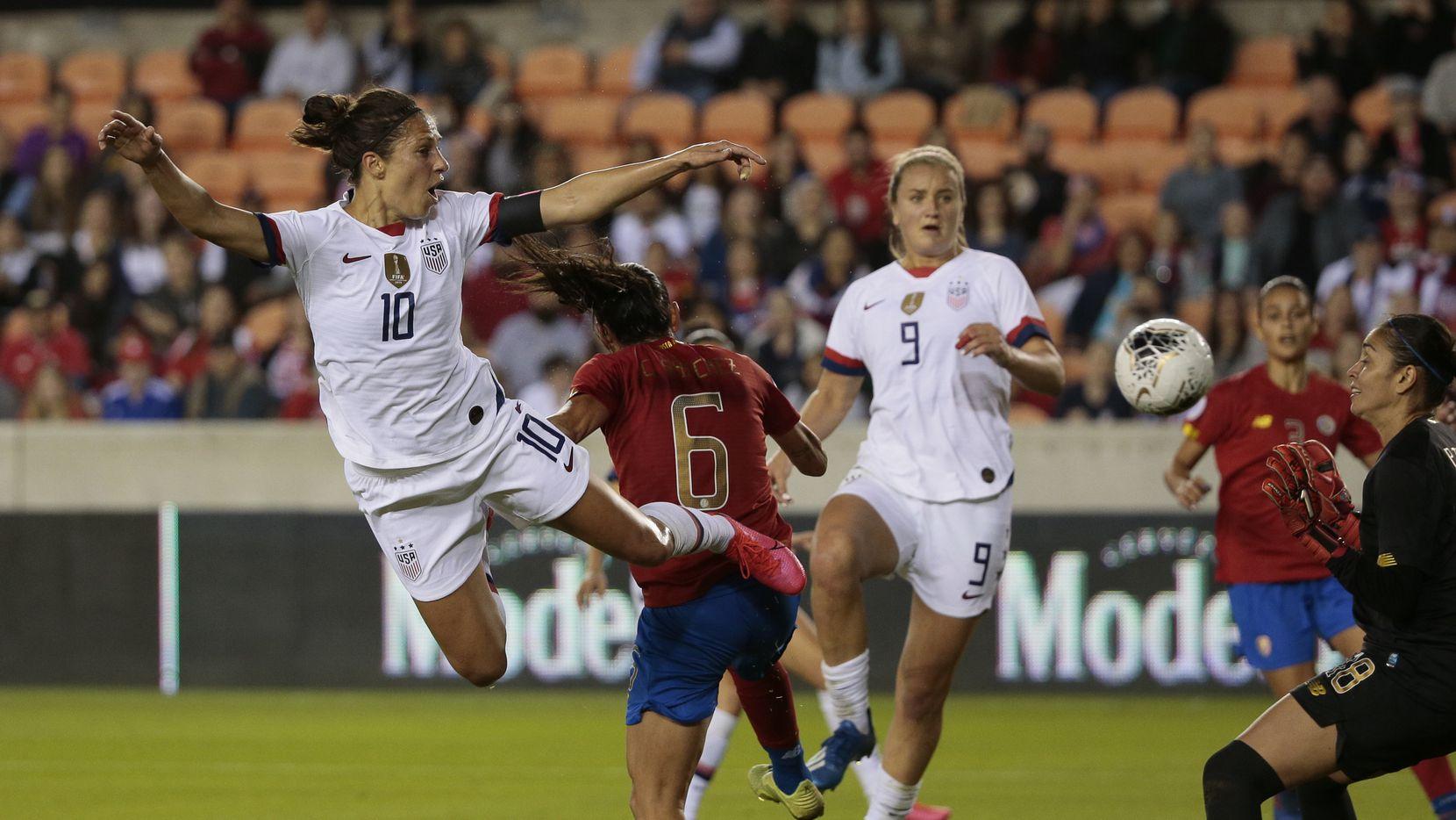 La selección femenil de Estados Unidos, actual campeona del mundo, viene al Toyota Stadium de Frisco para enfrentar al equipo nacional de Japón.