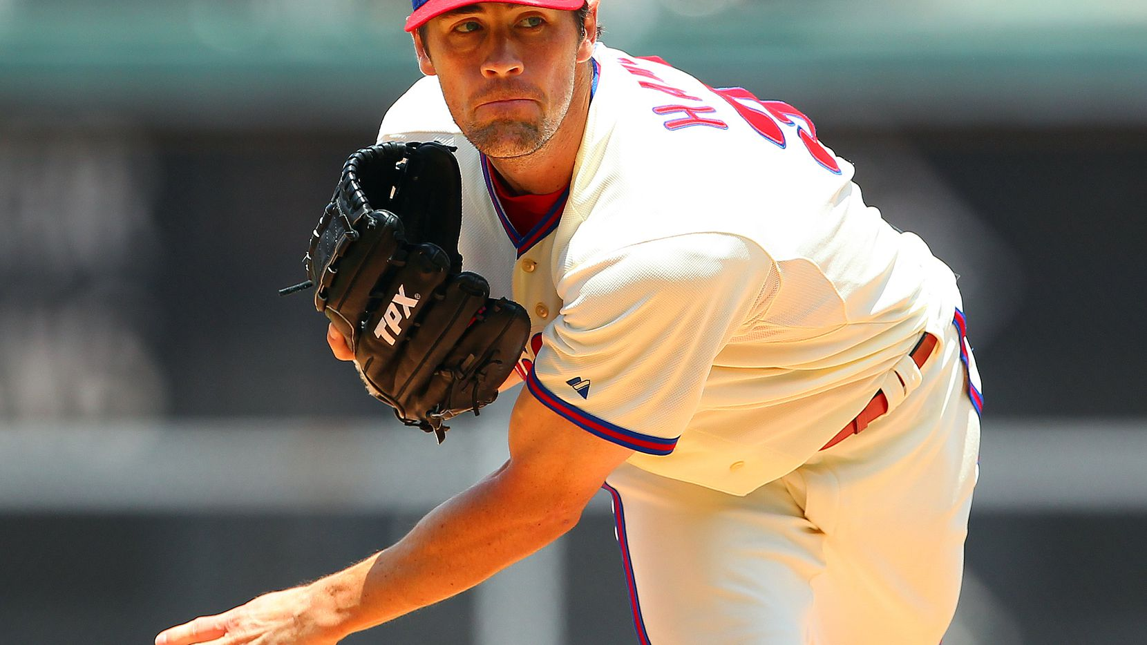 LHP COLE HAMELS, PHILADELPHIA: Phillies general manager Ruben Amaro has made his mark by trading prospects for veterans such as right-handers Roy Halladay and Roy Oswalt. Now, Amaro looks at the other side of the coin. Hamels can become a free agent after the season, and the Phillies need a talent infusion after including so many young players in deals. After working in the bandbox that is Citizens Bank Park, Hamels would not be intimidated by Rangers Ballpark in Arlington.