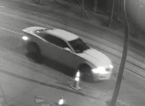 Police released this image of the suspect vehicle.
