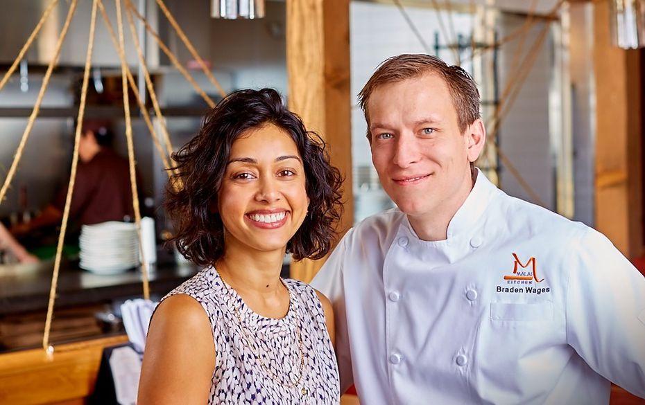 Yasmin and Braden Wages own four Malai Kitchen restaurants in Dallas-Fort Worth.